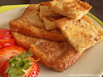 Torrijas de pan de molde