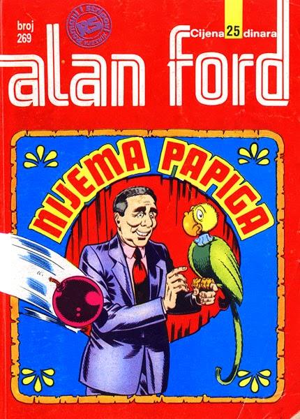 Nijema papiga - Alan Ford