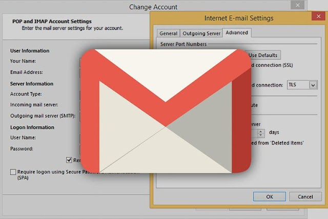What are the gmail pop3 settings?