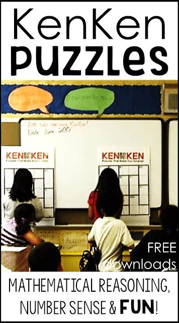 KenKen Puzzles - mathematical reasoning, number sense and FUN!
