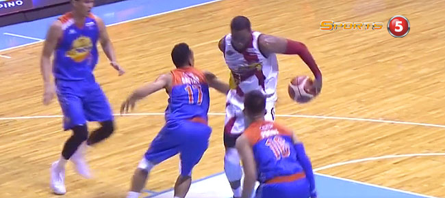 Charles Rhodes' NASTY Move Against TNT in Game 5 (VIDEO)