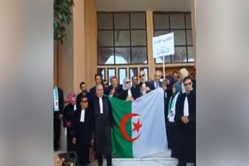محامو الشلف يقاطعون العمل القضائي دعما للحراك الشعبي