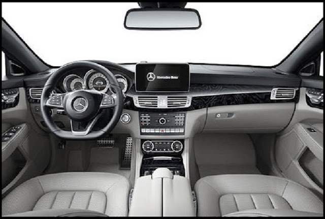 Mercedes CLS 400 sử dụng Vô lăng được thiết kế 3 chấu trẻ trung và năng động