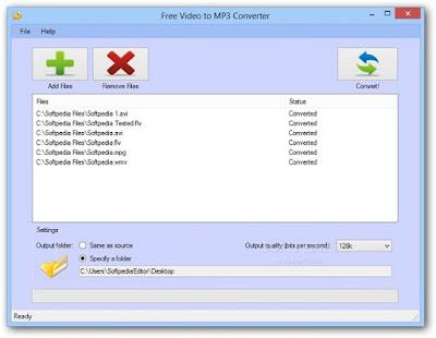 برنامج تحويل الفيديو الى صوت mp3 للكمبيوتر