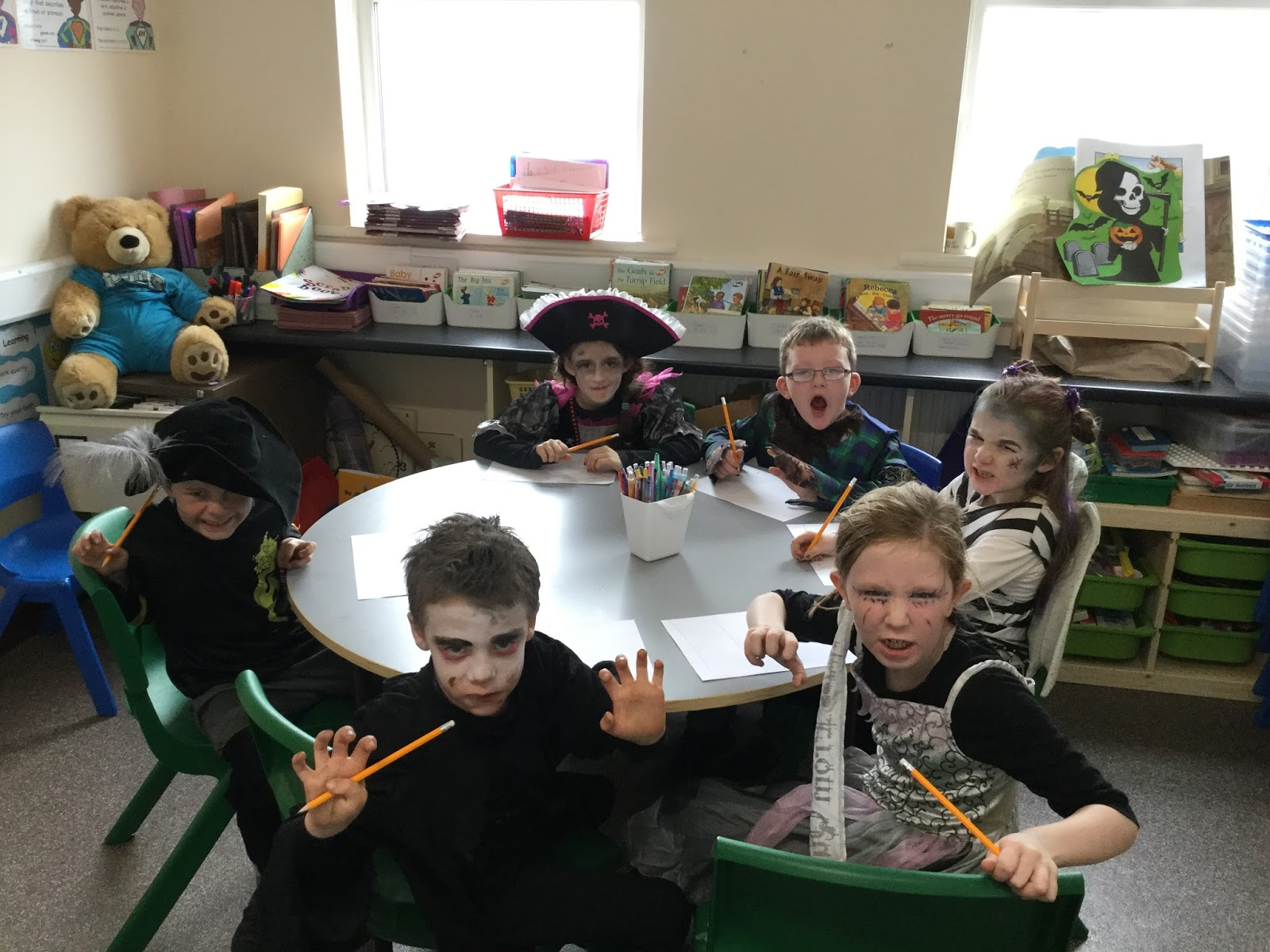 Burncourt National School: Horror Stories in First Class!