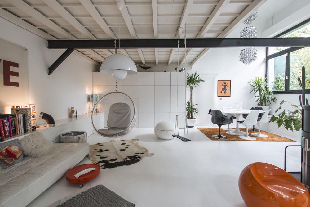 Apartamento tipo loft ultra moderno for Decoracion de loft pequenos