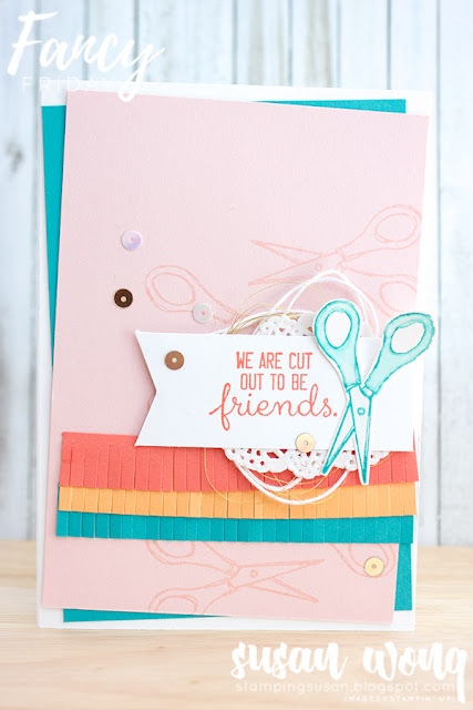 Crafting Forever Stamp Set - By Susan Wong for Fancy Friday