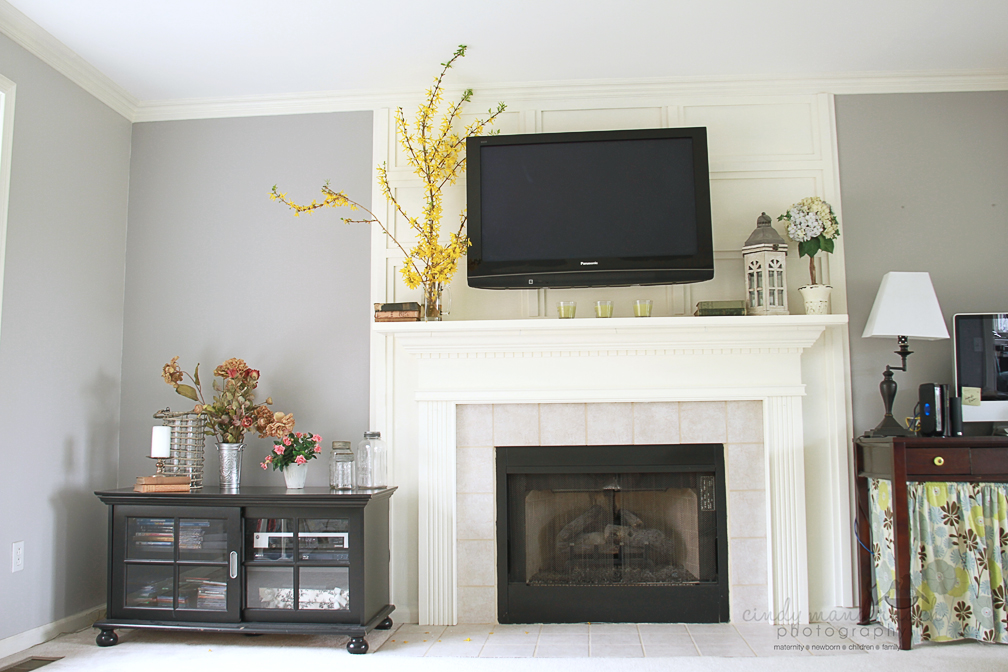 The ultimate guide to hiding mounted tv wires for - Tv wall mount above fireplace ...