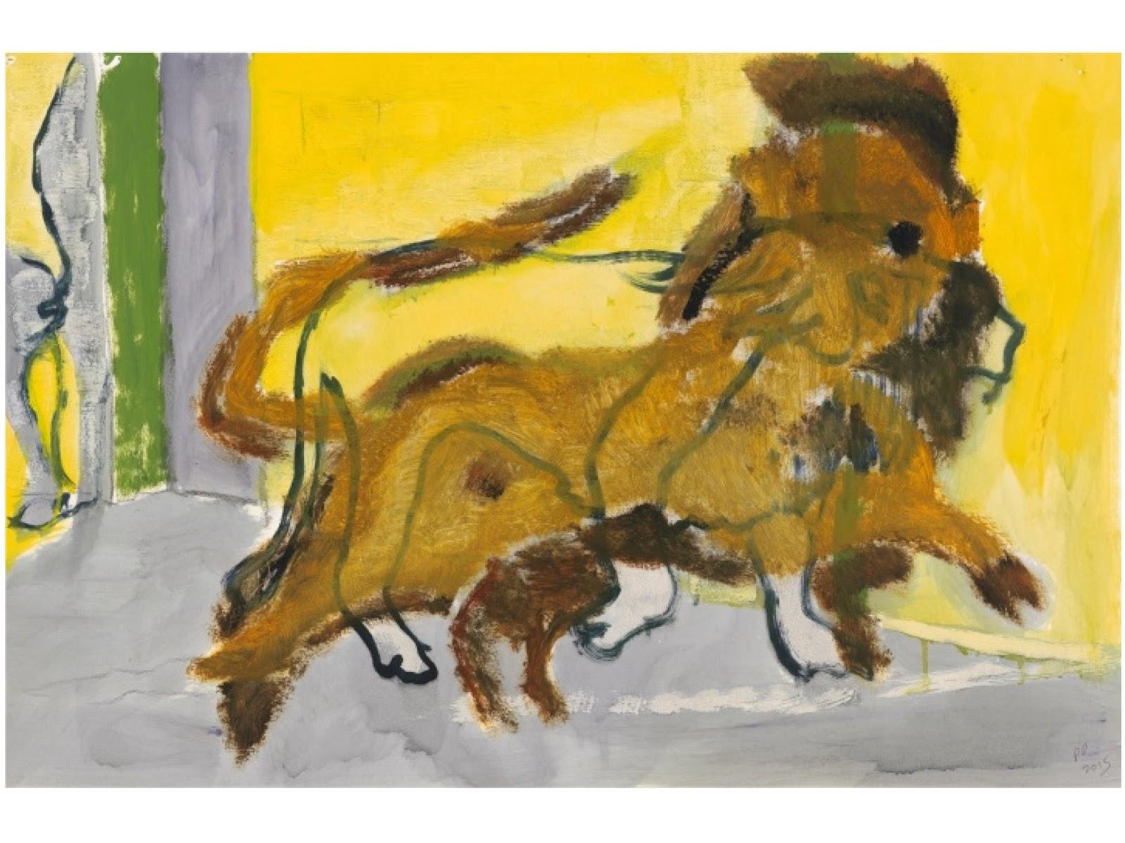 Lion Frederick Street, Peter Doig