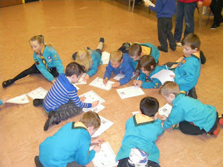 beaver scouts church hall floor