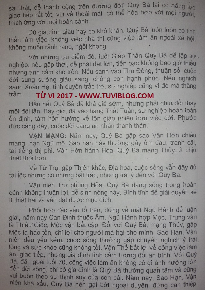 Tu vi tuoi Giap Than nam 2017