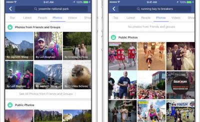 فيس بوك تطور إمكانية التعرف على الصور من خلال المحتوى
