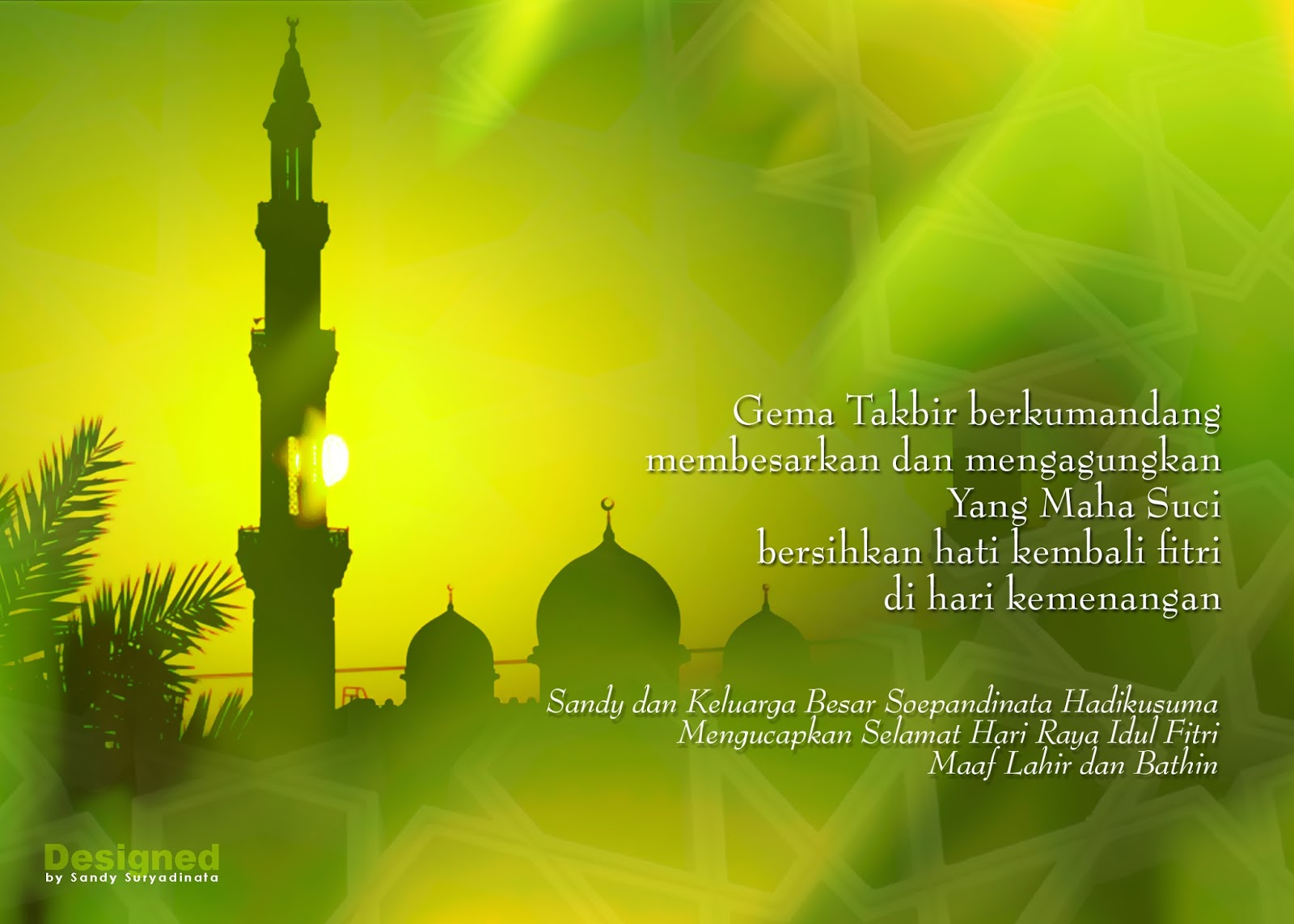 Kumpulan Gambar Ucapan Selamat Hari Raya Idul Fitri 1435 H