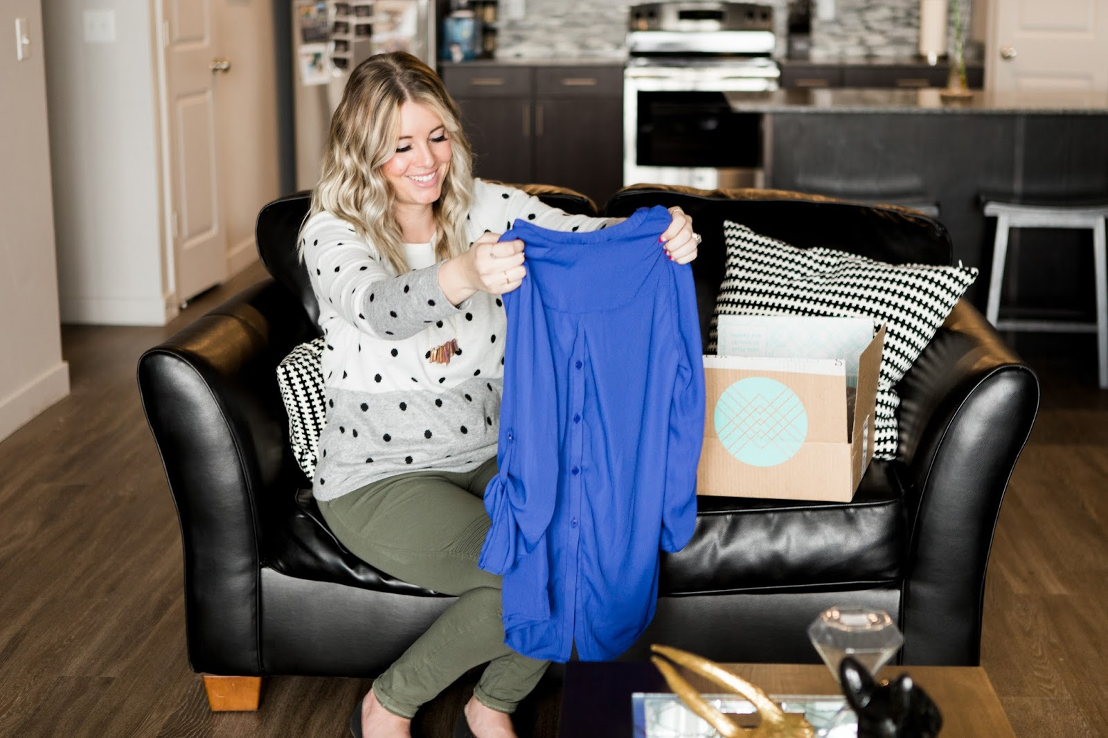 Stitch Fix Box, Utah Fashion Blogger