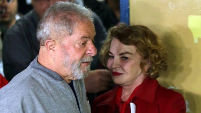Lula da Silva: Brazil ex-first lady Marisa Leticia confirmed dead