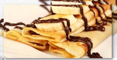 Crepes Krispi Cokelat