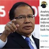 Sindiran Telak Rizal Ramli: Indonesia Miskin Tapi Baik Hati