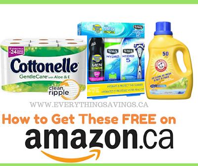Free Laundry Detergent on Amazon