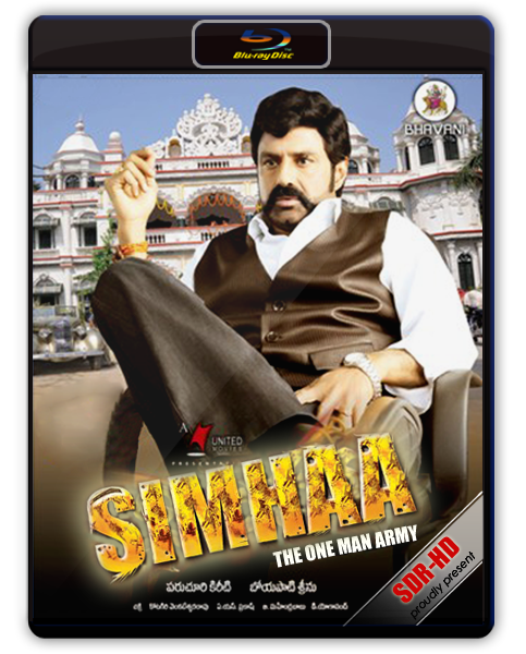 SIMHA The One Man Army 2010 Hindi Dubbed DvdRip