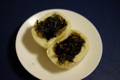 生坂村の農産物直売所 かあさん家のおまんじゅう 野沢菜