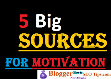 5 Big Sources for Motivation to Blog and Make Money