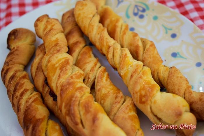 como fazer pão de canela
