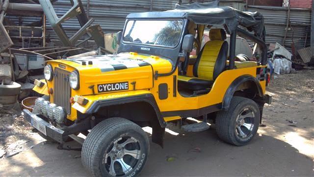 BLACK LISTED RIDERZ: Mahindra Jeep Modified