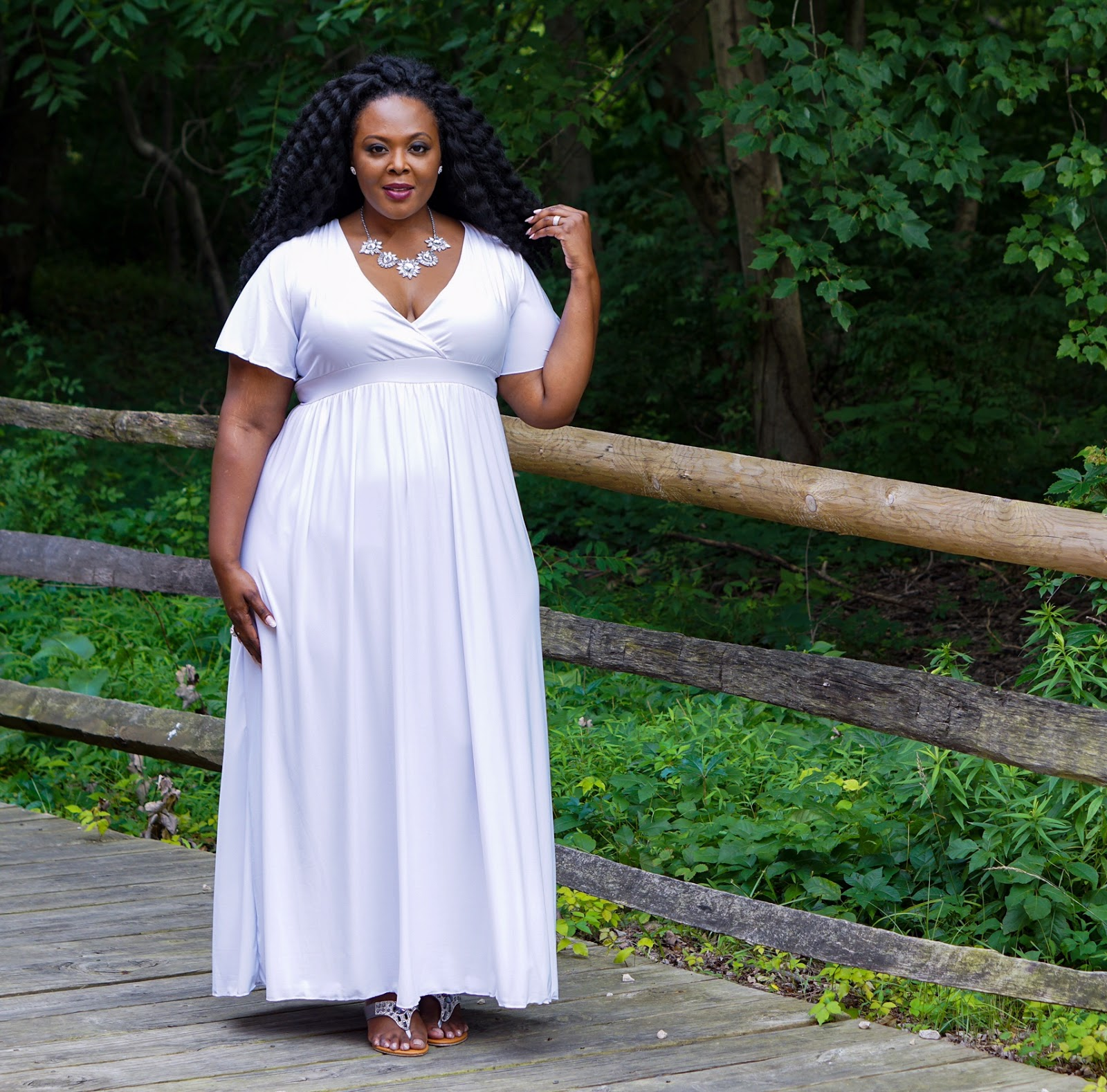 swak designs, white plus size dress, white maxi dress