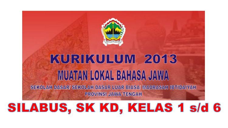 Silabus Mulok Bahasa Jawa Sd Mi Kurikulum 2013 Jateng
