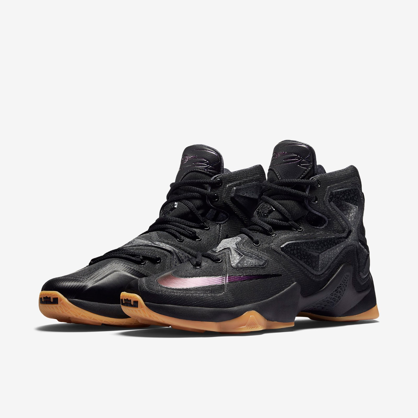 finest selection d4d4f 71886 ... germany known as the black lion edition this nike lebron 13 comes in a black  black