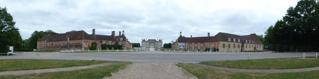 Vista general del palau