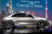 Mercedes-Benz Concept A Sedan (2017) Side