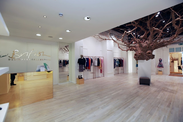 British Designers Collective, Pop Up Store, Bicester Village, Reino Unido