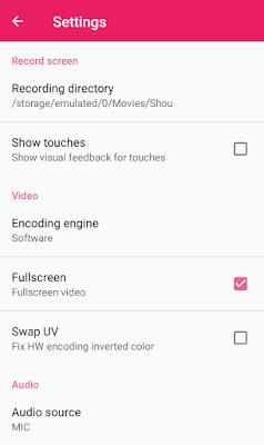 cara merekam screen android+audio internal