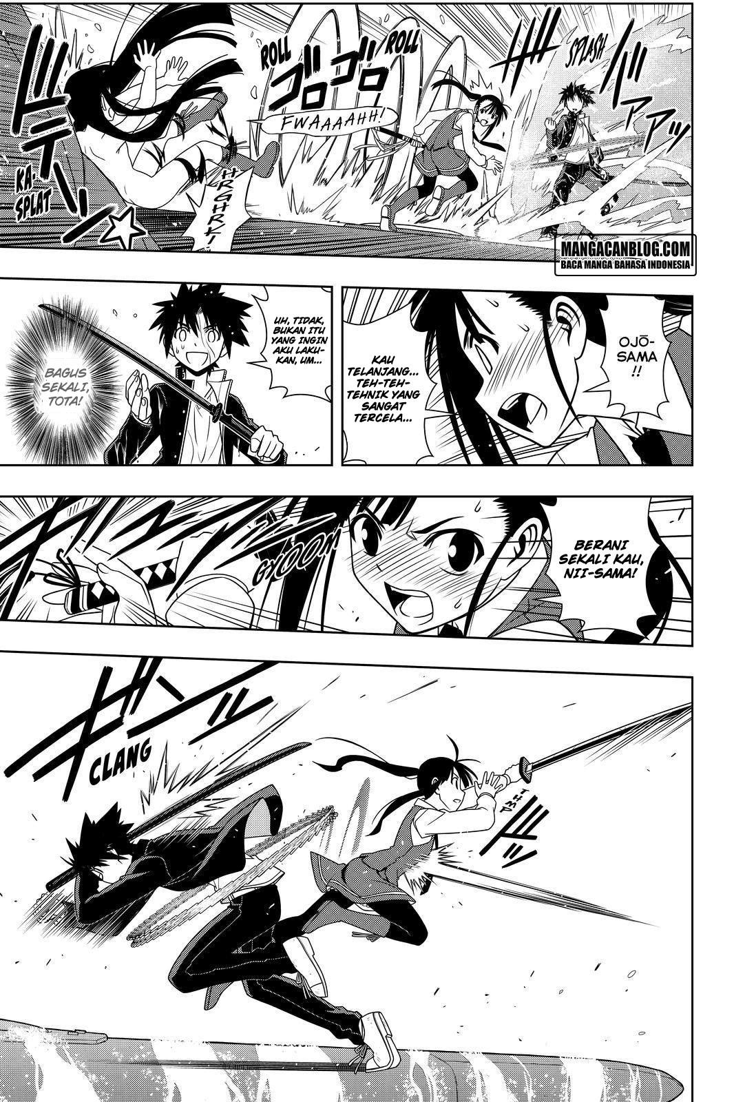 Komik uq holder 113 - ayo pergi dengan metode kekerasan 114 Indonesia uq holder 113 - ayo pergi dengan metode kekerasan Terbaru 13|Baca Manga Komik Indonesia