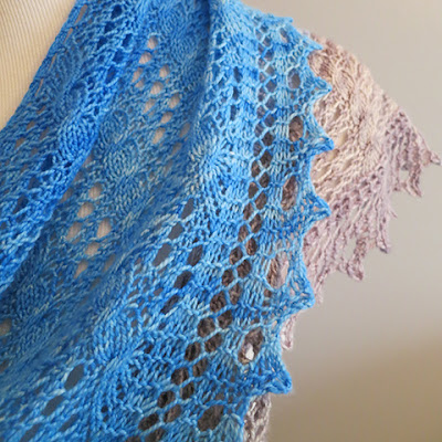 Knitting Like Crazy: Milton Shawl