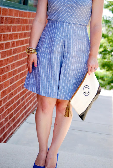 how to wear a linen dress, summer dress
