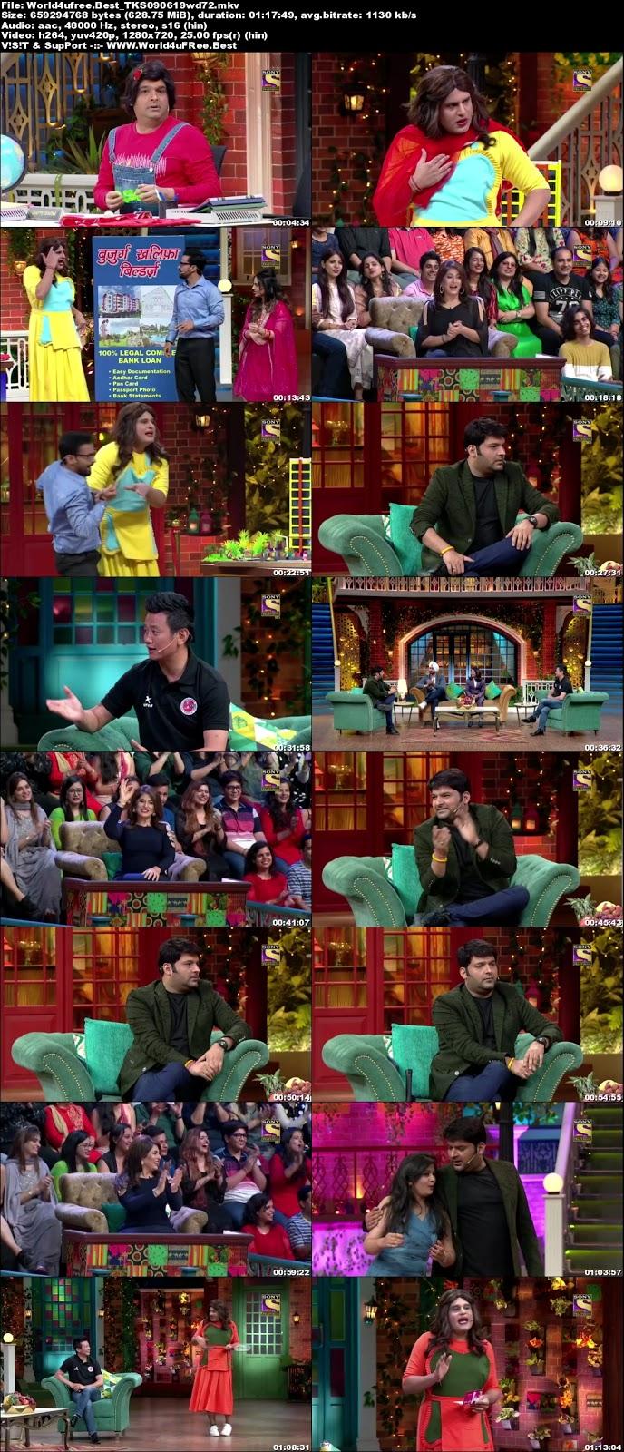 The Kapil Sharma Show S02E47 09 june 2019 720p WEBRip 600Mb ( Movie