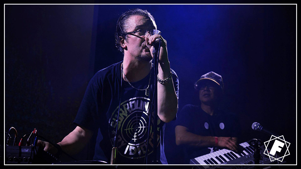 MIKE PATTON  DJQBERT  MONEY MARK live at The Chapel in San Francisco