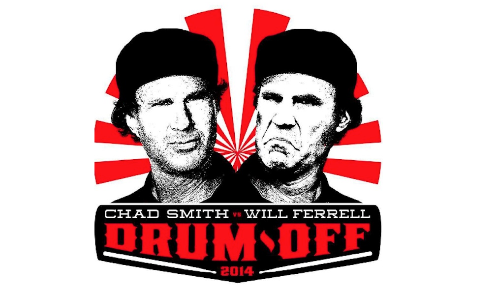 Jimmy Fallon Drum Off Chad Smith vs Will Ferrell