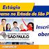 Estágio para o Governo do Estado de São Paulo