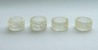 Diseño de anillo futurista