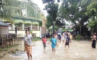 Banjir Madak Belek Sekotong Lombok Barat