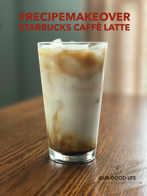 Starbucks caffe latte makeover