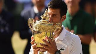 Djokovic wins Wimbledon 2018 title