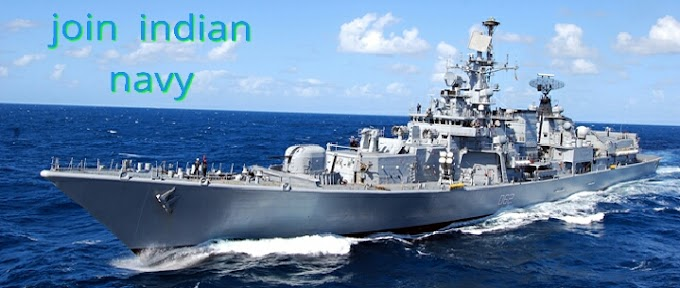 Join Indian navy 12th Passed can be applied 2017