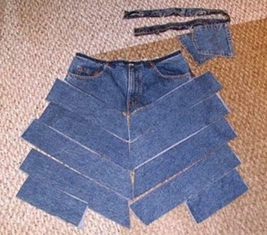 Vestidos de jeans reciclados