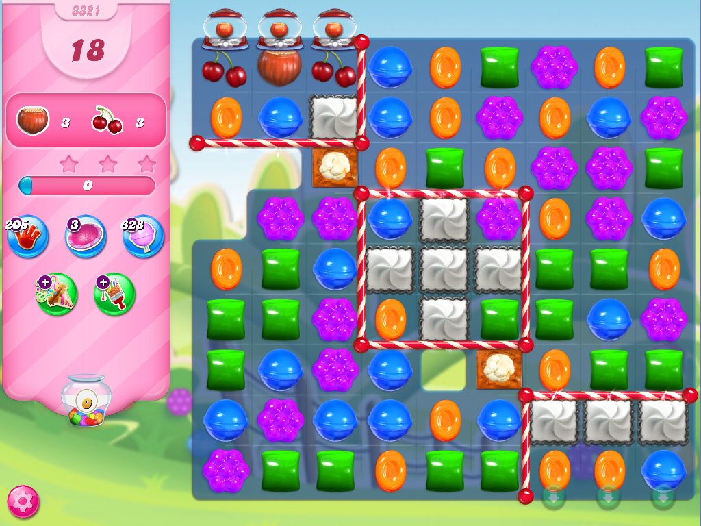 Candy Crush Saga level 3321