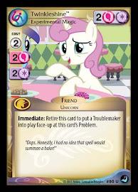 My Little Pony Twinkleshine, Experimental Magic High Magic CCG Card