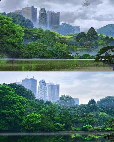 47 gambar Anime vs Dunia nyata yang bisa dijadikan wallpaper komputer